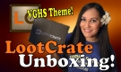 "Lootcrate Unboxing - VGHS ""Varsity"" Theme with StrangeLuv"